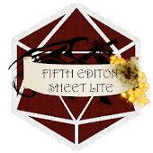 Fifth Edition Sheet Lite