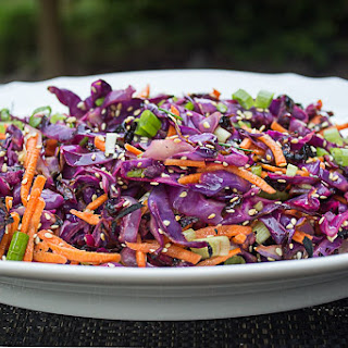 Grilled Coleslaw (No Mayo) Recipe