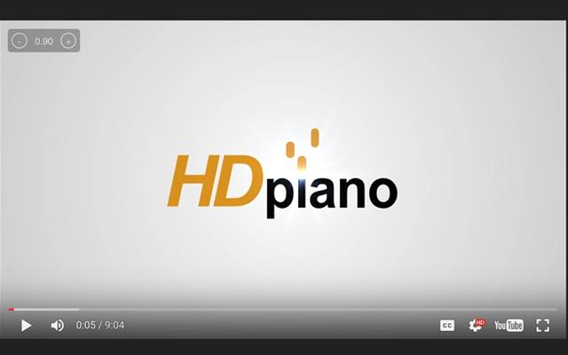 HDpiano Speed Control