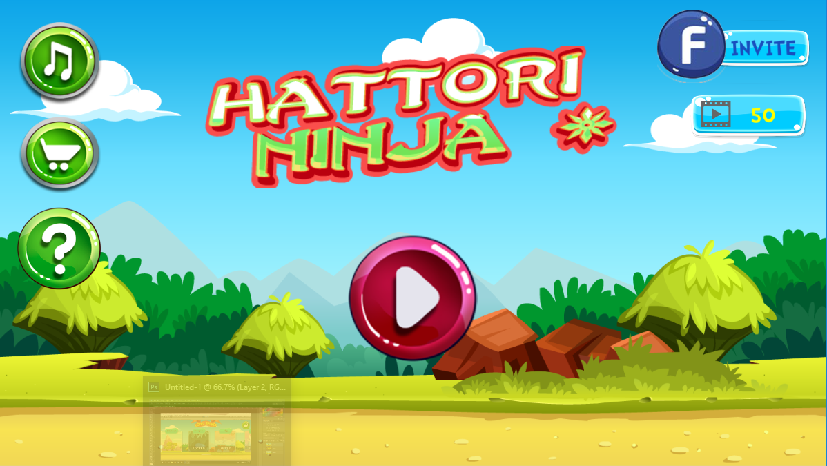 Ninja  Hatori ultimate Adventure- screenshot