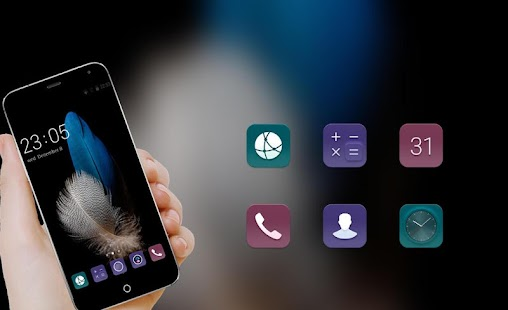 Theme for Huawei P8 Lite HD Wallpaper & Icon Pack - náhled