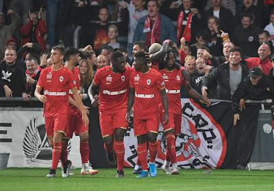 Alexis De Sart is tevreden met zijn debuut voor Antwerp
