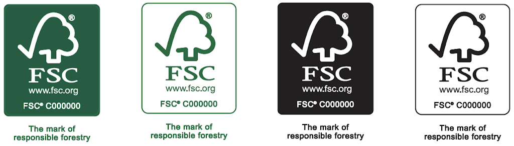 FSC Labels - 4 up