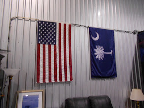 Photo: Two great flags ... Salute!