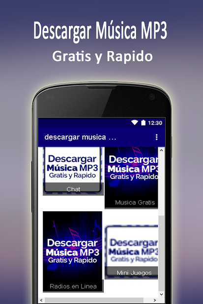 app para descargar musica mp3 gratis android