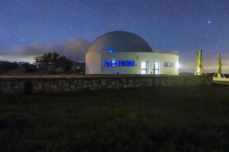notte al planetario di lugiube