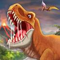 DINO WORLD - Jurassic dinosaur game icon