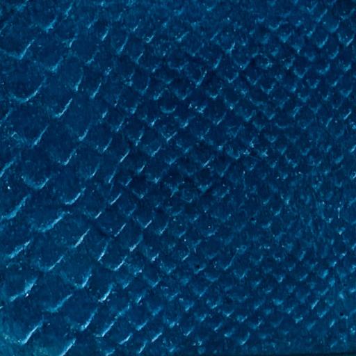 béton imprimé coloris bleu pétrole