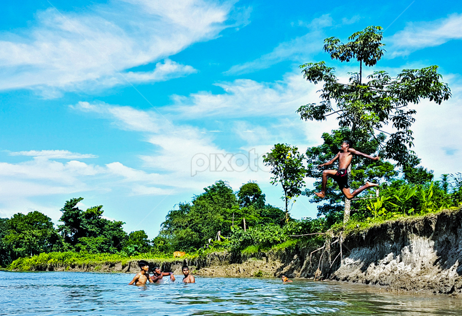 Ullaas4 by Jhilam Deb - Sports & Fitness Watersports ( childre, jalpaiguri, dhupgur, dooars, playing, west bengal )