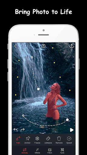 Movepic - photo motion &3D loop photo alight Maker 2.1.2 screenshots 1