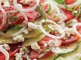For the Dressing: Cut the onions and tomatoes in dice remove the tomato seeds  mix them...