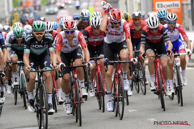 Het is eens wat anders dan de misdaadpagina's: Tosh Van der Sande herleeft in de Giro