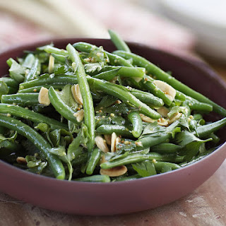 Green Bean, Watercress and Almond Salad