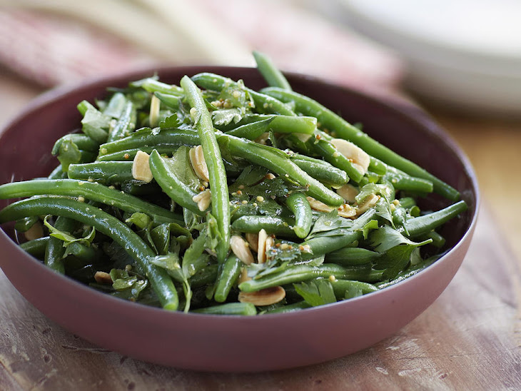 Green Bean, Watercress and Almond Salad Recipe | Yummly