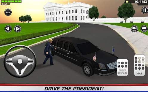 Driving President Trump 3D- screenshot thumbnail