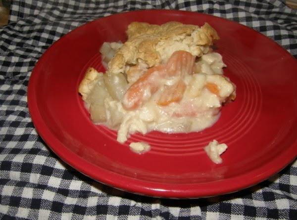 Cheddar Chicken Pot Pie Recipe