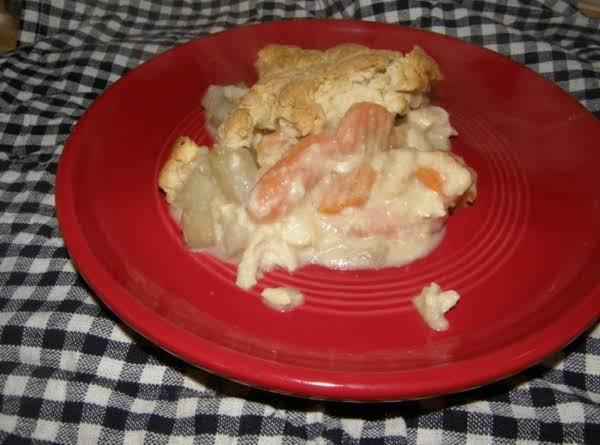 Cheddar Chicken Pot Pie