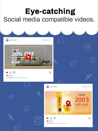 Marketing Video, Promo Video & Slideshow Maker 28.0 screenshots 14