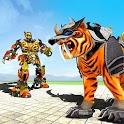 Futuristic Robot Tiger Real Robot Transformation icon