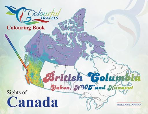 Sights of Canada: British Columbia, Yukon, N.W.T. & Nunavut cover