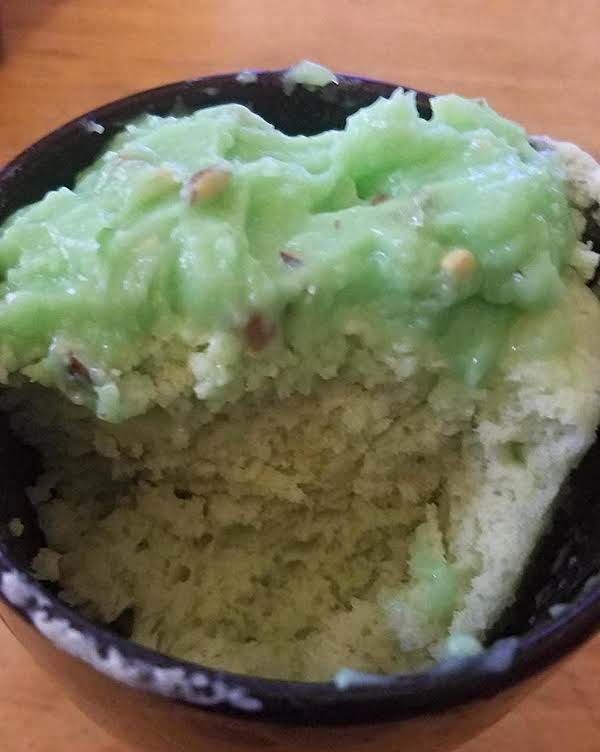Pistachio Pudding Mug Cake Recipe