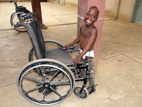 Photo: ce magnifique sourire est une grande leçon de vie...