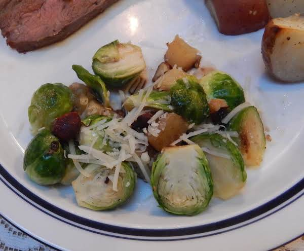Brussels Sprouts With Pear And Hazelnuts (posted By Jean Ray/sheepdoc).