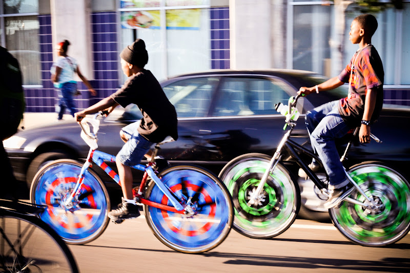 Photo: Scraper bikes in Oakland by Joe Sciarrillo