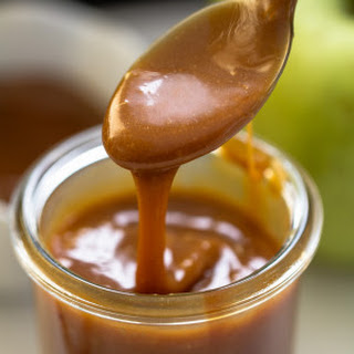 Easy 3 Ingredient Homemade Caramel Sauce.