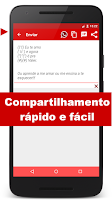 Screenshot of Mensagens Prontas para celular