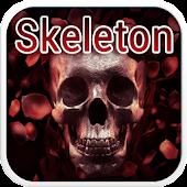 Skeleton Emoji Keyboard Theme