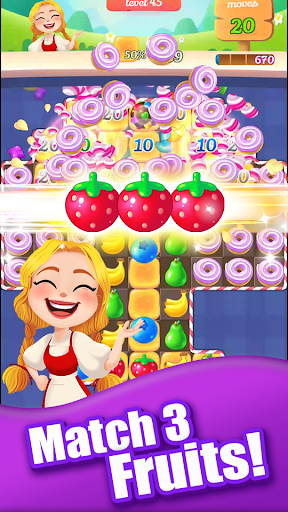 New Sweet Fruit Punch u2013 Match 3 Puzzle game 1.0.27 screenshots 6