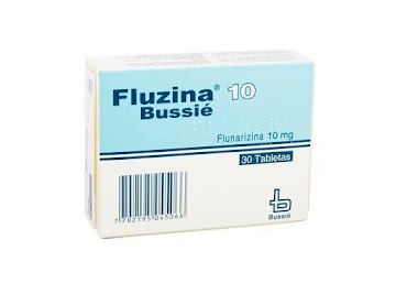 Fluzina 10Mg Tabletas   Caja X30Tab. Bussié Flunarizina