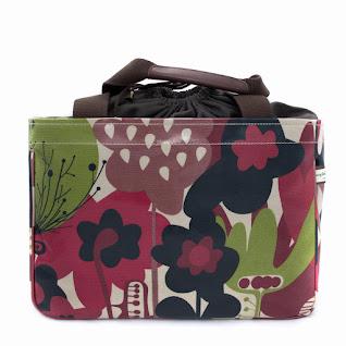 Wild Floral Mini Box Tote
