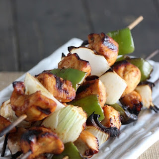 Sweet and Spicy Chicken Kabobs!