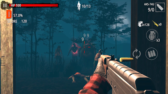 Zombie Hunter D-Day Mod Apk Download For Android and Iphone 5