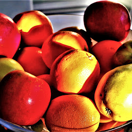 Fruit by Martin Stepalavich - Artistic Objects Still Life
