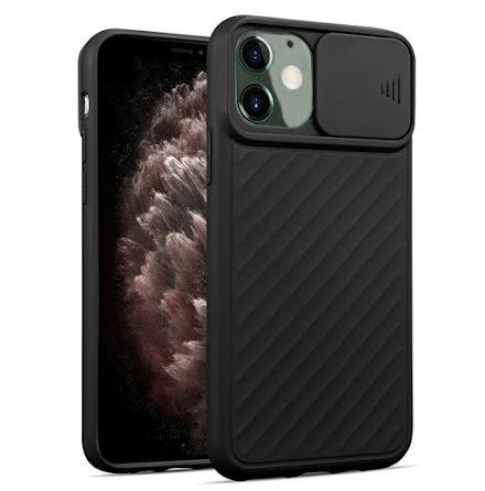 iPhone 12 - Praktiskt Skyddande Skal med Kamera Skydd