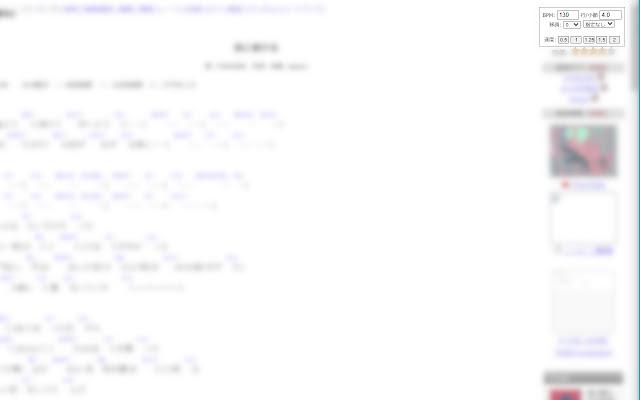 ChordWiki Scroll Extension