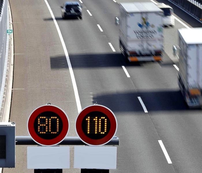 ปัจจุบันเมืองไทยมีความเร็วสูงสุดที่ 110 กม./ชม.