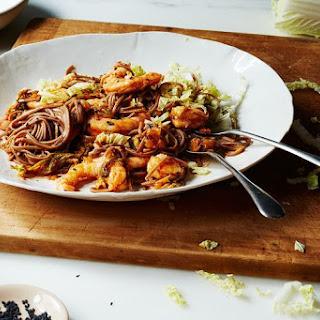 Kimchi, Shrimp, and Soba Salad