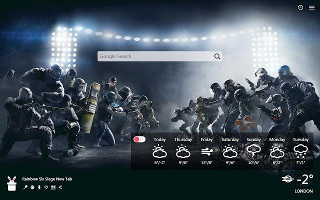 Rainbow Six Siege New Tab, Wallpapers HD