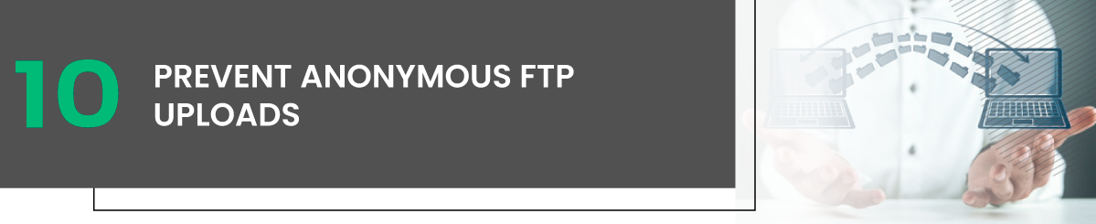 Prevent Anonymous FTP Uploads linux vps hosting