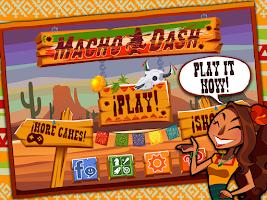 Screenshot of Macho Dash - Shooting Action