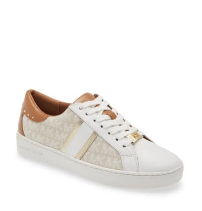 Keaton Stripe Sneaker, natural multi