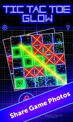 Tic Tac Toe Glow by TMSOFT screenshot 4