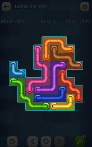 Line Puzzle: Pipe Art - screenshot