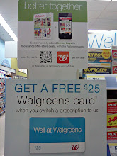 Photo: The same signs that were on the front of the aisles are on the back, they really like these advertisements.