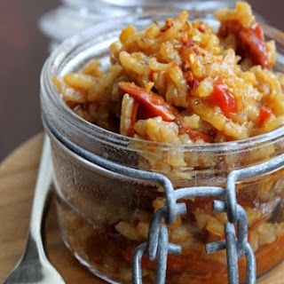 Chorizo Risotto.