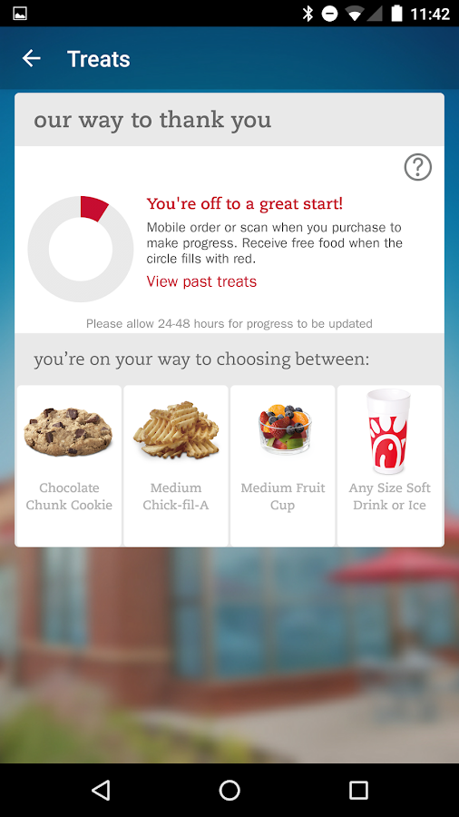 Chick-fil-A- screenshot